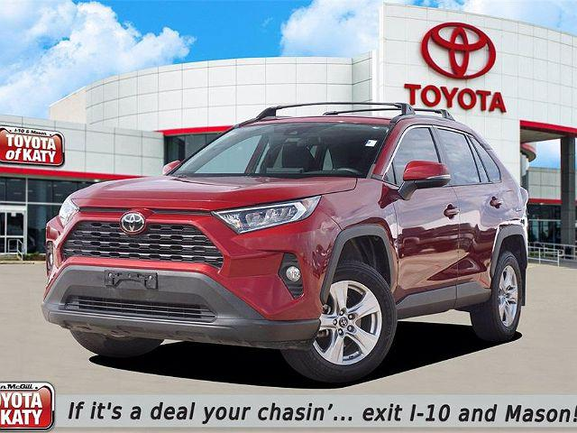 2019 Toyota RAV4 XLE for sale in Katy, TX