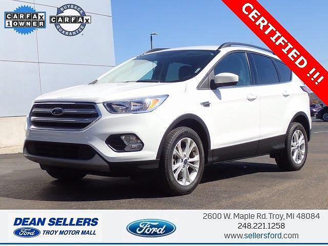 2018 Ford Escape SE for sale in Troy, MI