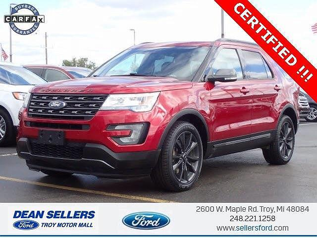 2017 Ford Explorer XLT for sale in Troy, MI