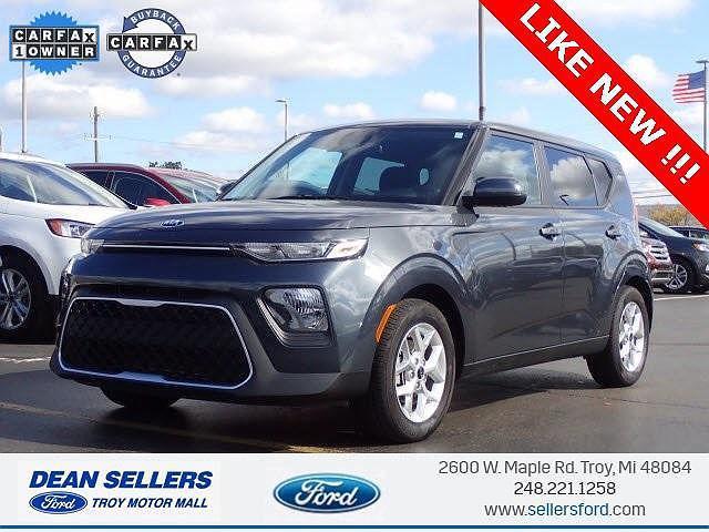2021 Kia Soul S for sale in Troy, MI