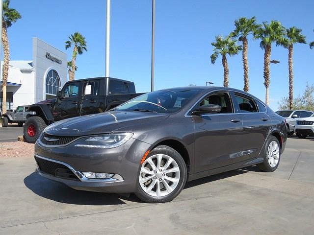 2015 Chrysler 200 C for sale in Henderson, NV