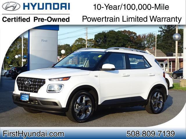 2020 Hyundai Venue SEL for sale in NORTH ATTLEBORO, MA