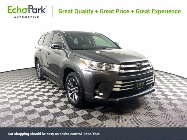 2018 Toyota Highlander XLE for sale in New Braunfels, TX