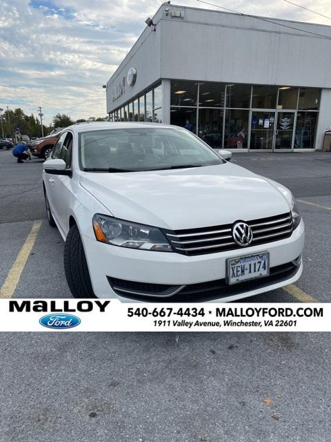2012 Volkswagen Passat SE for sale in Winchester, VA