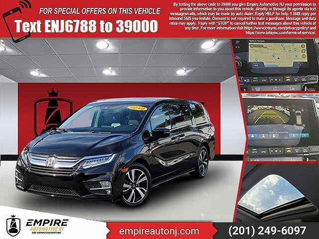 2018 Honda Odyssey Elite for sale in Little Ferry, NJ