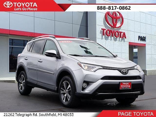 2017 Toyota RAV4 XLE for sale in Southfield, MI