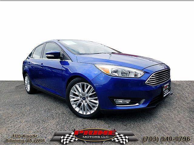 2015 Ford Focus Titanium for sale in Arlington, VA