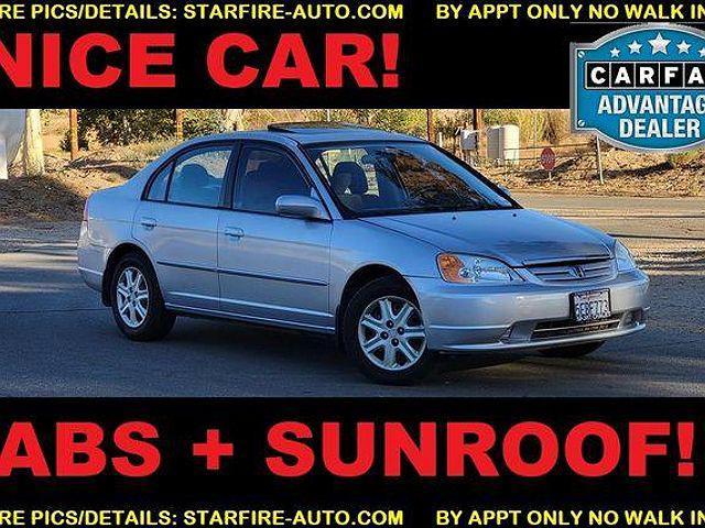 2003 Honda Civic EX for sale in Santa Clarita, CA