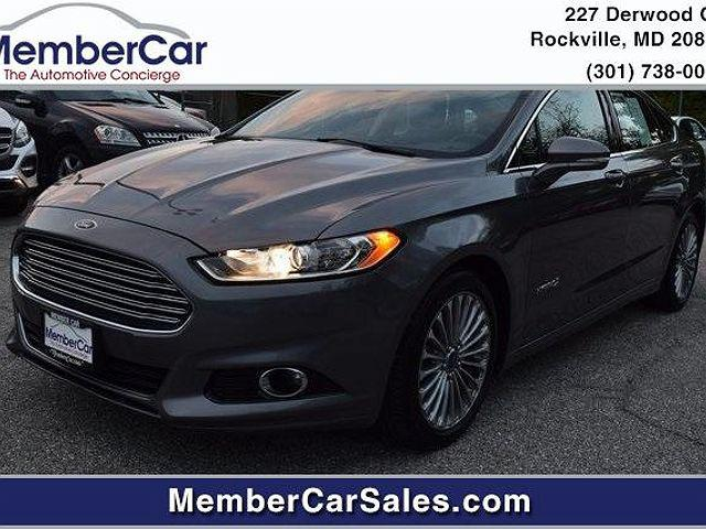 2014 Ford Fusion Titanium Hybrid for sale in Rockville, MD