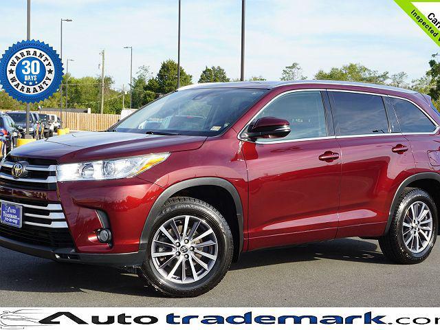 2017 Toyota Highlander XLE for sale in Manassas, VA