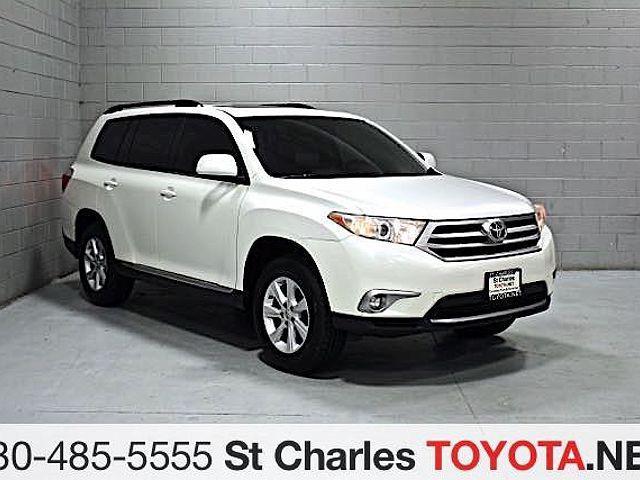 2012 Toyota Highlander SE for sale in Saint Charles, IL