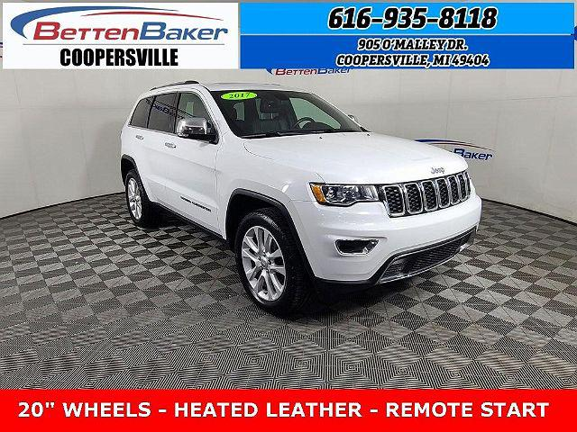 2017 Jeep Grand Cherokee Limited for sale in Coopersville, MI
