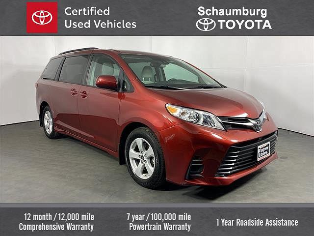 2020 Toyota Sienna LE for sale in Schaumburg, IL