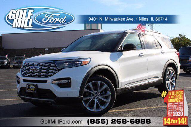 2021 Ford Explorer Platinum for sale in Niles, IL