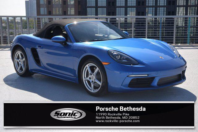2018 Porsche 718 Boxster Roadster for sale in North Bethesda, MD