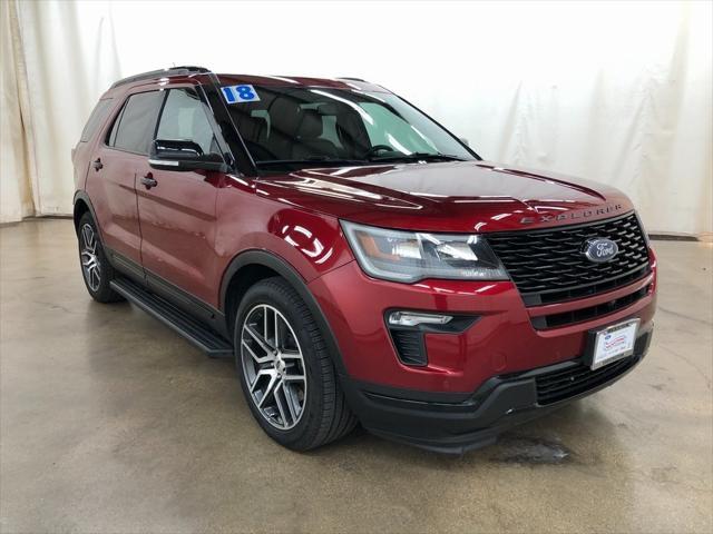 2018 Ford Explorer Sport for sale in Barrington, IL