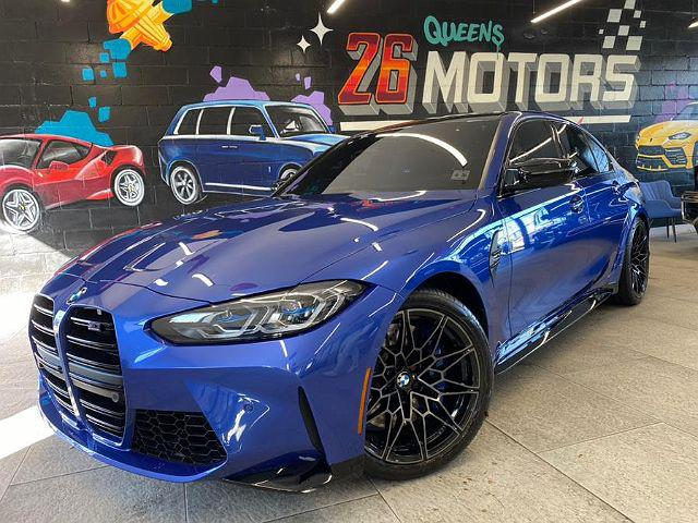 2021 BMW M3 Competition for sale in Woodside, NY