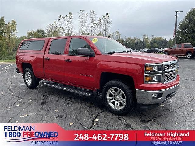 2014 Chevrolet Silverado 1500 LT for sale in Highland Township, MI
