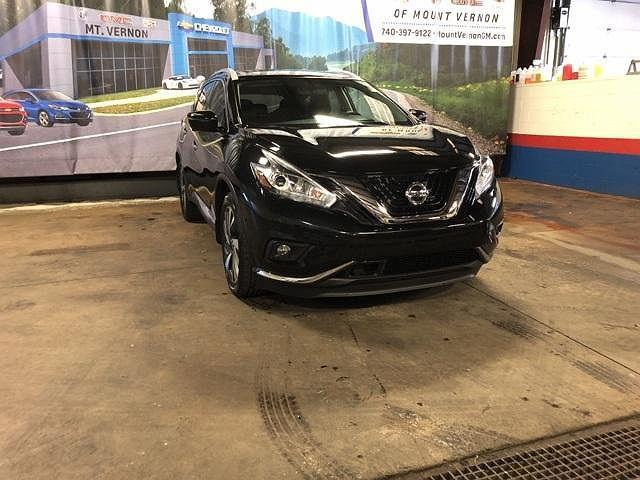 2018 Nissan Murano Platinum for sale in Mount Vernon, OH