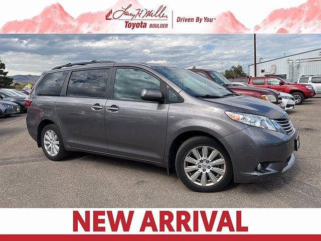 2017 Toyota Sienna XLE for sale in Boulder, CO