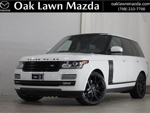 2017 Land Rover Range Rover V8 Supercharged SWB for sale in Oak Lawn, IL