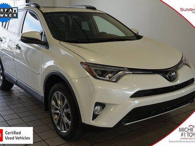 2018 Toyota RAV4 Limited for sale in Battle Creek, MI