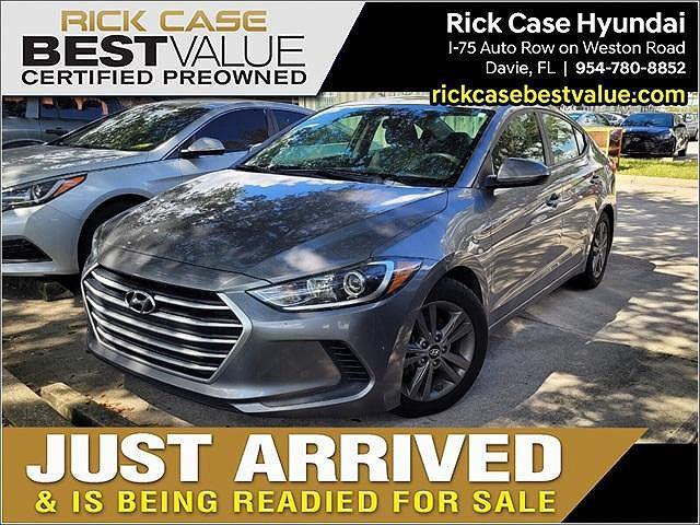 2018 Hyundai Elantra SEL for sale in Davie, FL