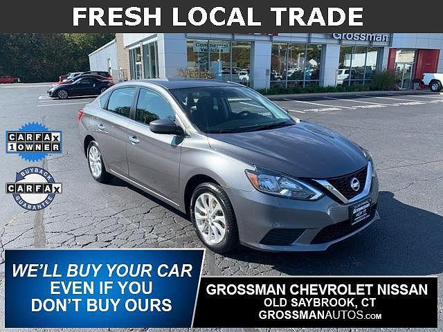 2019 Nissan Sentra SV for sale in Old Saybrook, CT