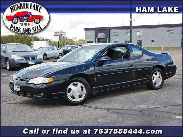 2000 Chevrolet Monte Carlo SS for sale in Andover, MN