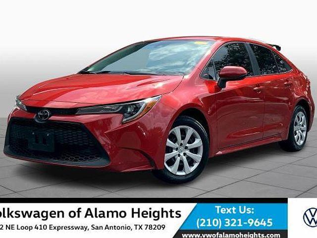 2020 Toyota Corolla LE for sale in San Antonio, TX