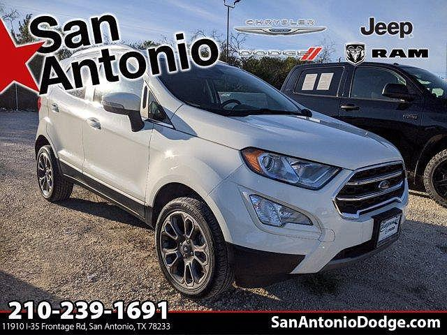 2020 Ford EcoSport Titanium for sale in San Antonio, TX