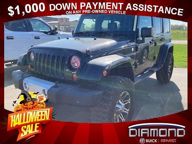 2010 Jeep Wrangler Unlimited Sahara for sale in Alexandria, MN
