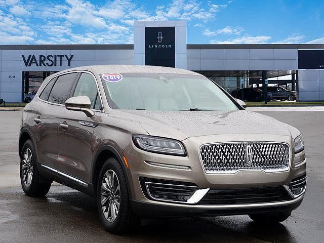 2019 Lincoln Nautilus Select for sale in Novi, MI