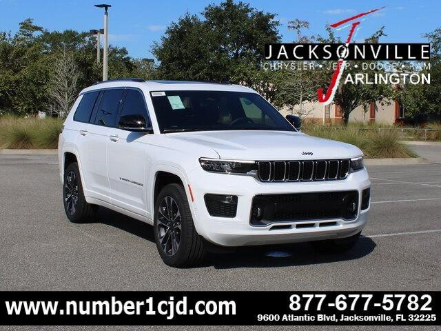 2021 Jeep Grand Cherokee Overland for sale in Jacksonville, FL