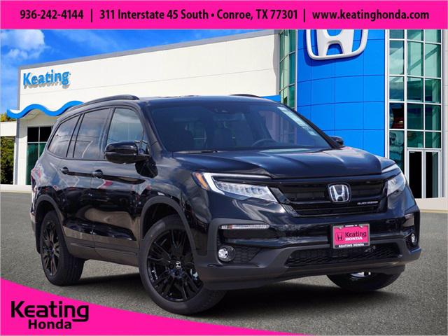 2022 Honda Pilot Black Edition for sale in Conroe, TX