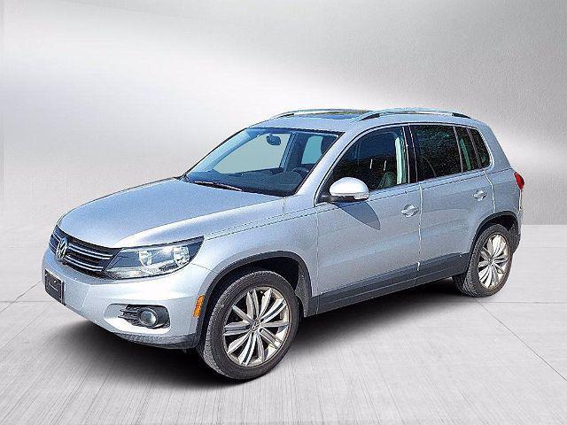 2012 Volkswagen Tiguan SE w/Sunroof & Nav for sale in Frederick, MD