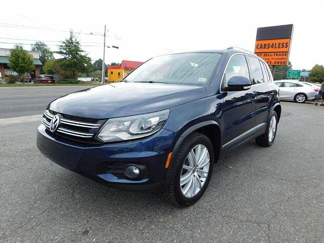 2012 Volkswagen Tiguan SEL w/Premium Nav for sale in Manassas, VA