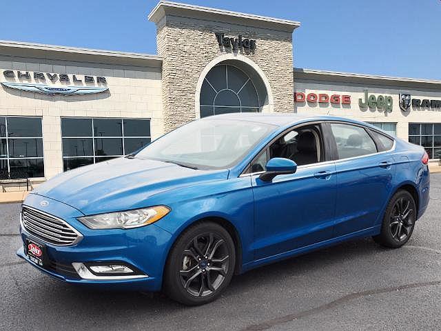 2018 Ford Fusion SE for sale in Bourbonnais, IL
