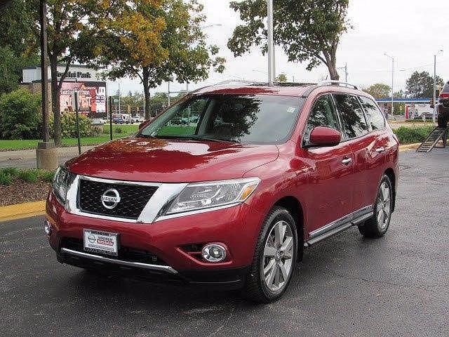 2014 Nissan Pathfinder Platinum for sale in Hoffman Estates, IL