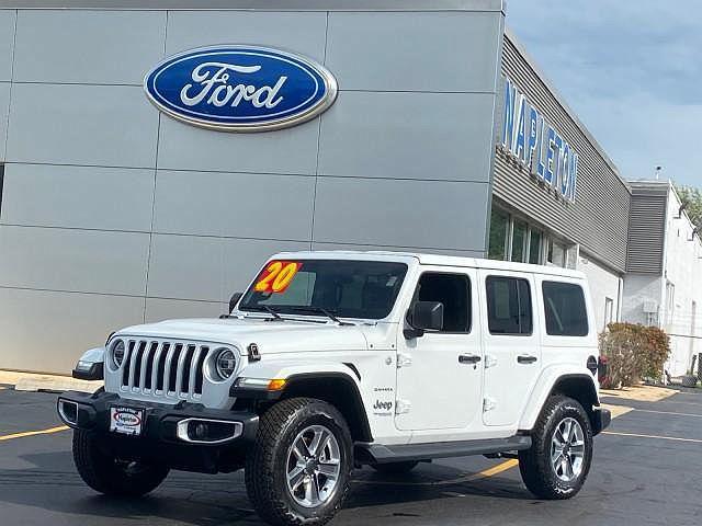 2020 Jeep Wrangler Sahara for sale in Libertyville, IL