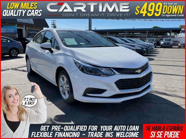 2018 Chevrolet Cruze LT for sale in Ontario, CA