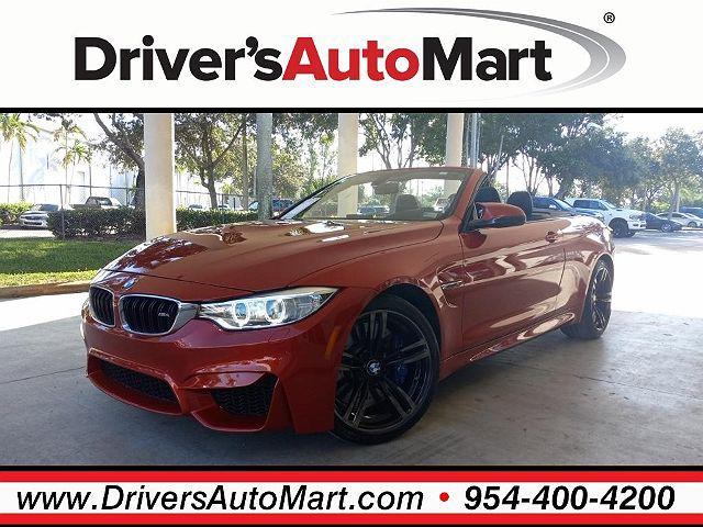 2016 BMW M4 2dr Conv for sale in Davie, FL