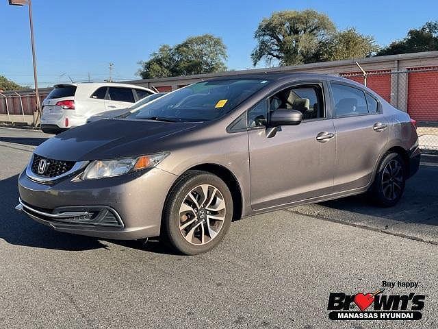 2014 Honda Civic Sedan EX for sale in Manassas, VA