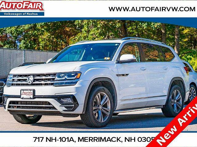 2019 Volkswagen Atlas 3.6L V6 SE w/Technology R-Line for sale in Merrimack, NH
