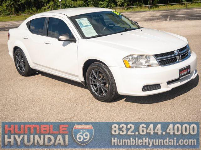 2014 Dodge Avenger SE for sale in Humble, TX
