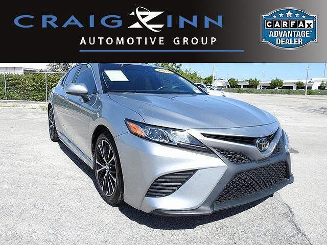 2018 Toyota Camry SE for sale in Hollywood, FL