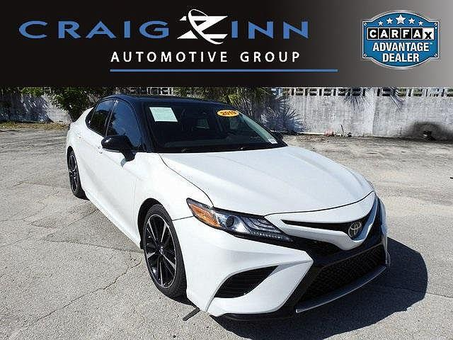 2019 Toyota Camry XSE for sale in Hollywood, FL