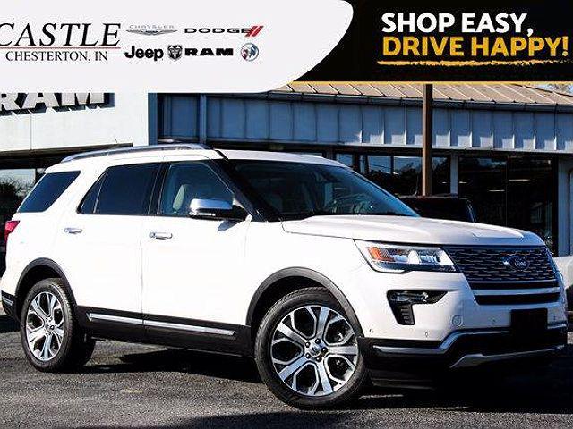 2018 Ford Explorer Platinum for sale in Chesterton, IN