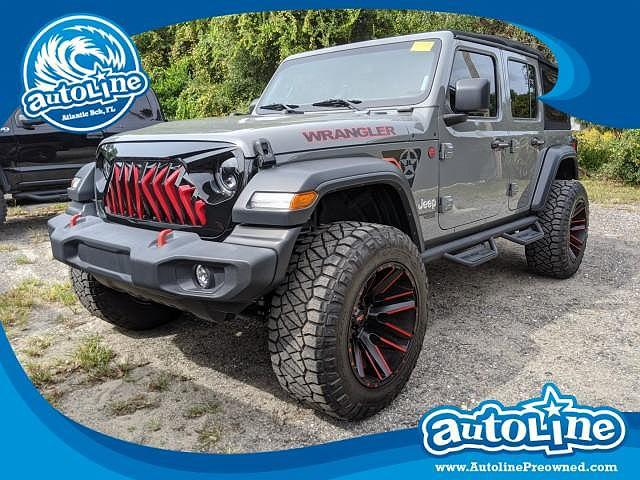 2018 Jeep Wrangler Unlimited Sport S for sale in Jacksonville, FL