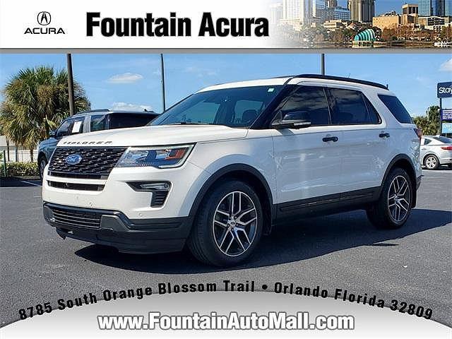 2018 Ford Explorer Sport for sale in Orlando, FL